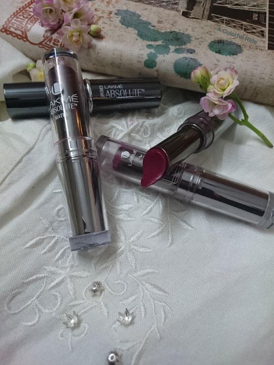 Lakme absolute sculpt matte lipstick shades