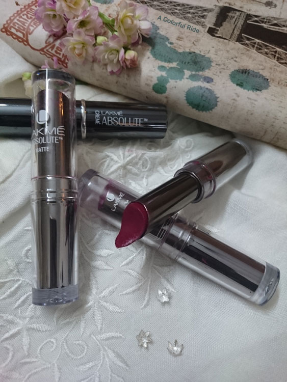 Lakme absolute sculpt matte lipstick review