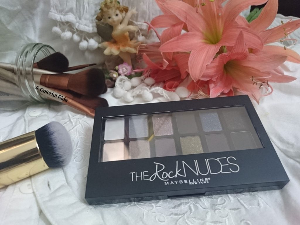 Maybelline The Rock Nudes Palette Review & Swatches