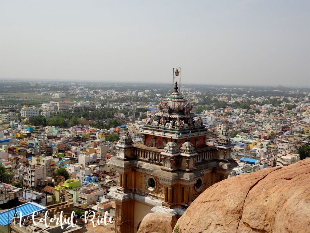 rockfort temple in Trichy