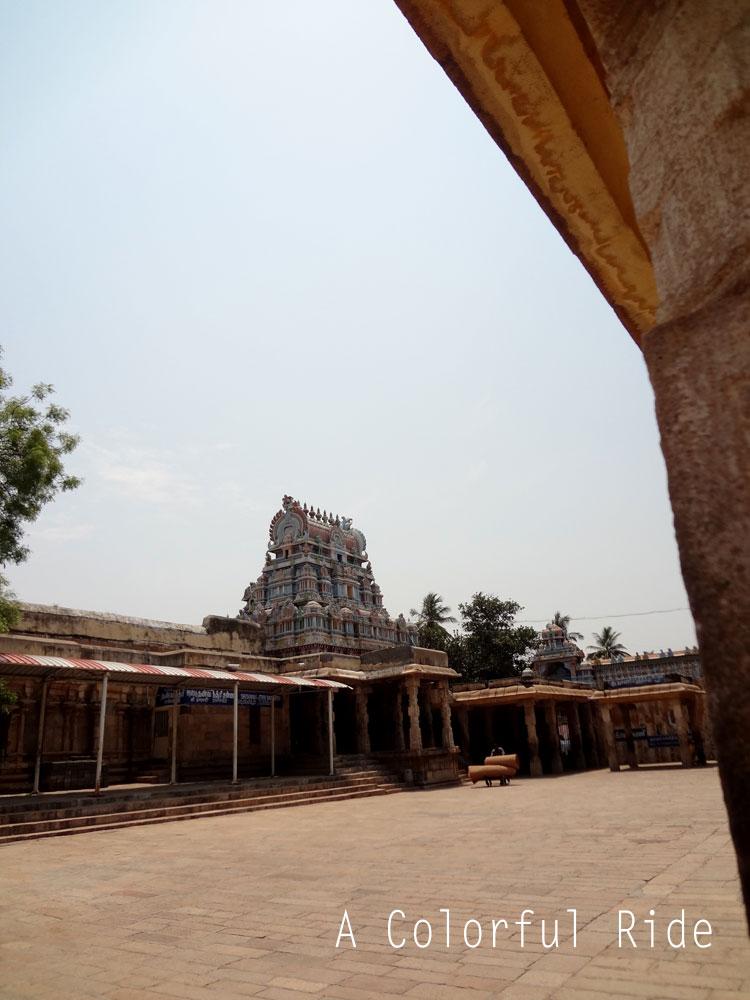 visit to Srirangam temple