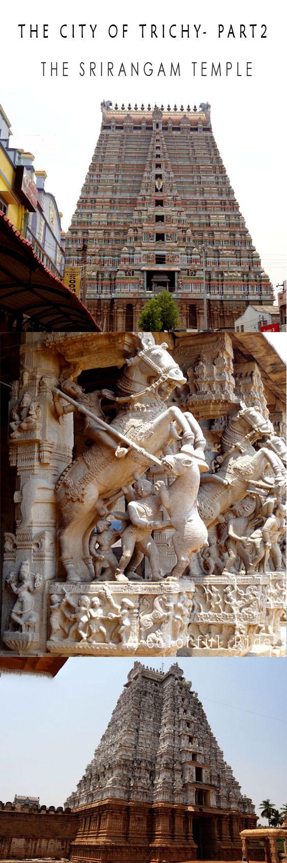 Trichy Srirangam temple