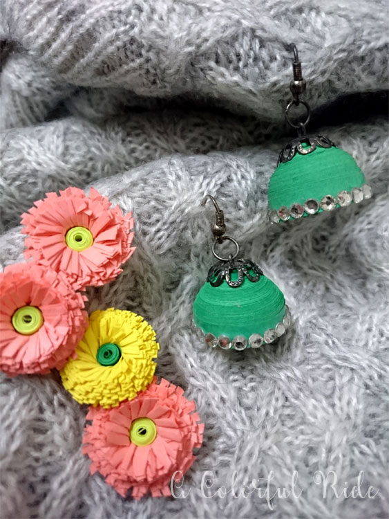 quilled earrings patterns
