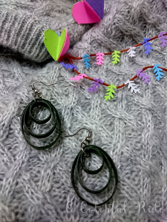 quilled earrings designs