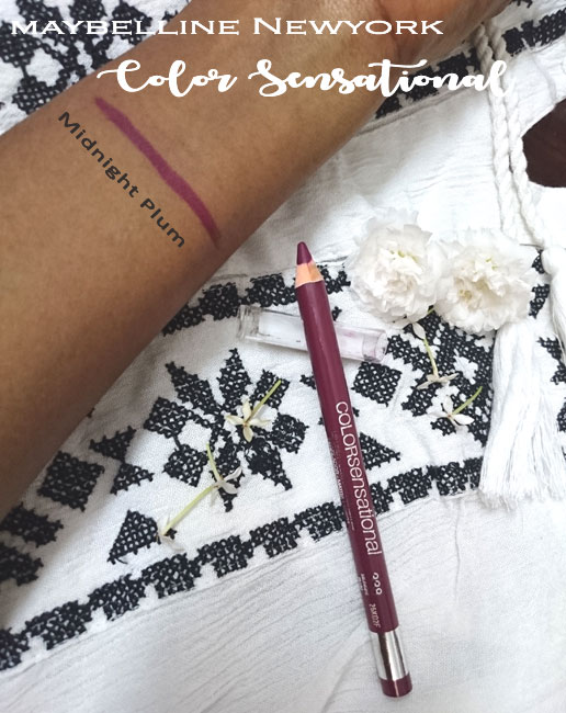 Maybelline Color Sensational Shaping Lip Liner midnight plum Review