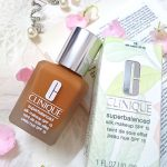 CLINIQUE SUPERBALANCED SILK MAKEUP SPF 15 FOUNDATION – 18 SILK SABLE – REVIEW