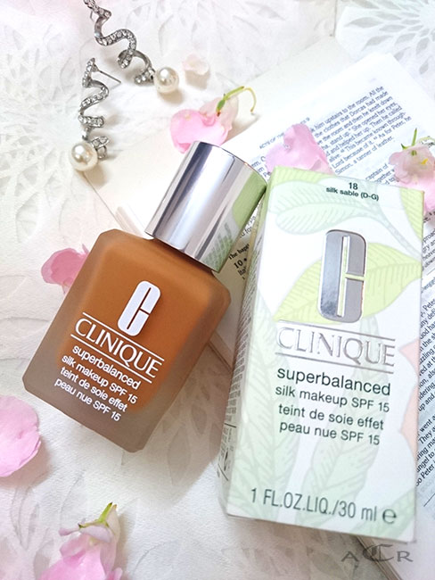 clinique superbalanced silk foundation review