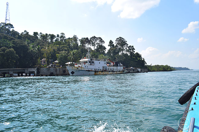 baratang island limestone caves