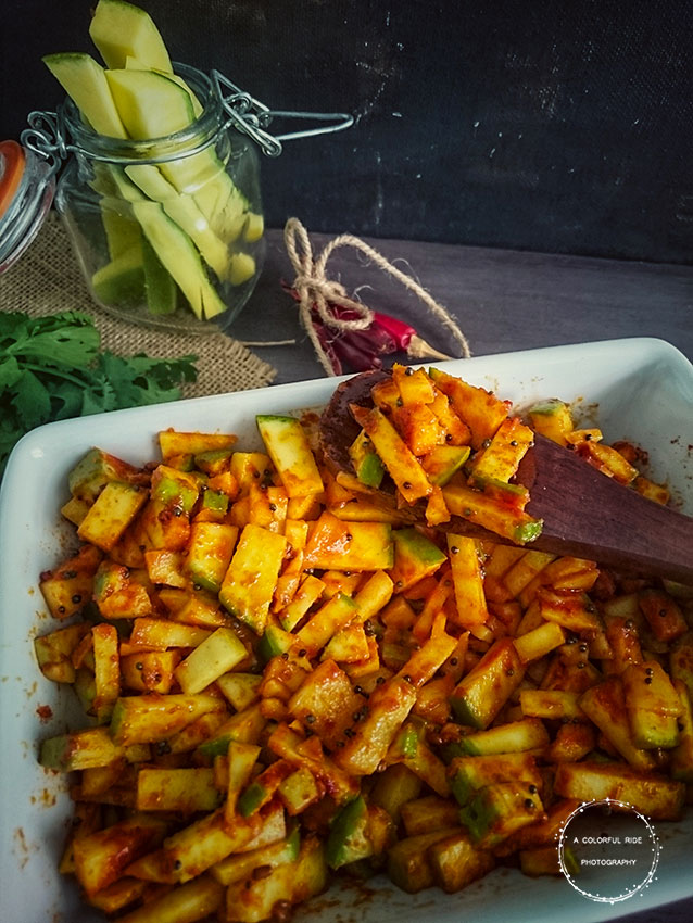 how to do mango pickle