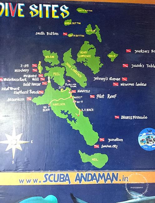 scuba diving andaman cost