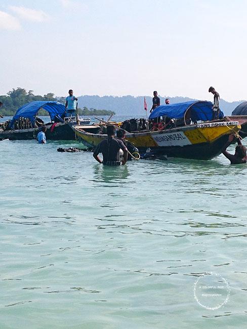 scuba diving at andaman cost