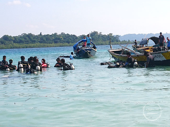 scuba diving and snorkeling in Andaman