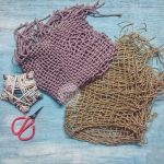WOVEN MAT AND NEWBORN TIEBACKS