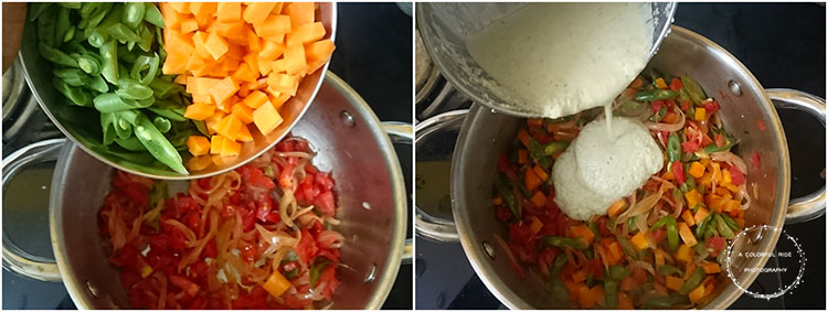 carrot kurma recipe