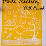 WARLI PAINTING – A COZY WALL MURAL!!
