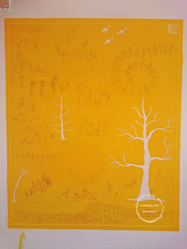 how to do warli painting