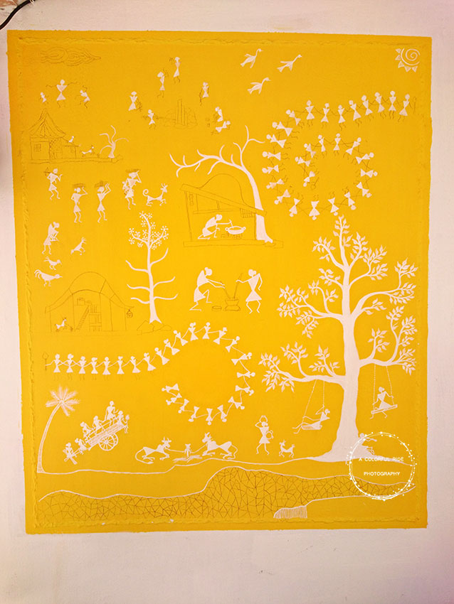 warli painting tutorial for beginners