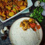 KADAI MUSHROOM – SIMPLE AND SPICY INDIAN STYLE MUSHROOM RECIPE!!