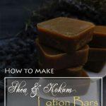 DIY – LOTION BAR WITH SHEA & KOKUM BUTTERS