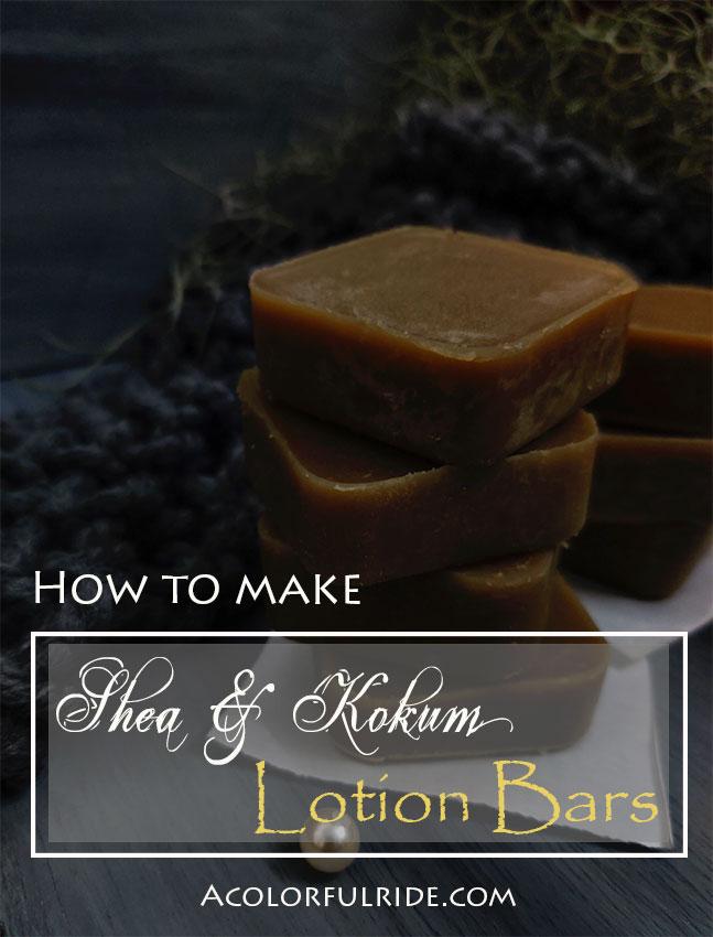 Lotion bar recipe