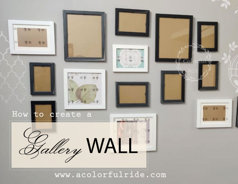 how to create gallery wall