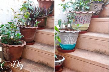 , easy DIY terracotta planters