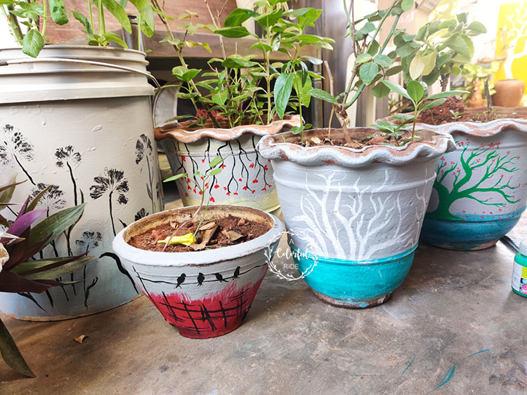 painting flower pots ideas