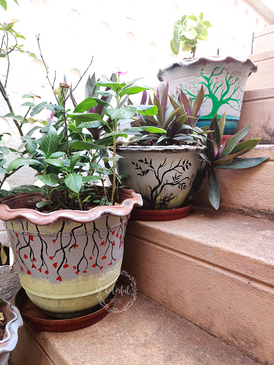 Diy terracotta pots