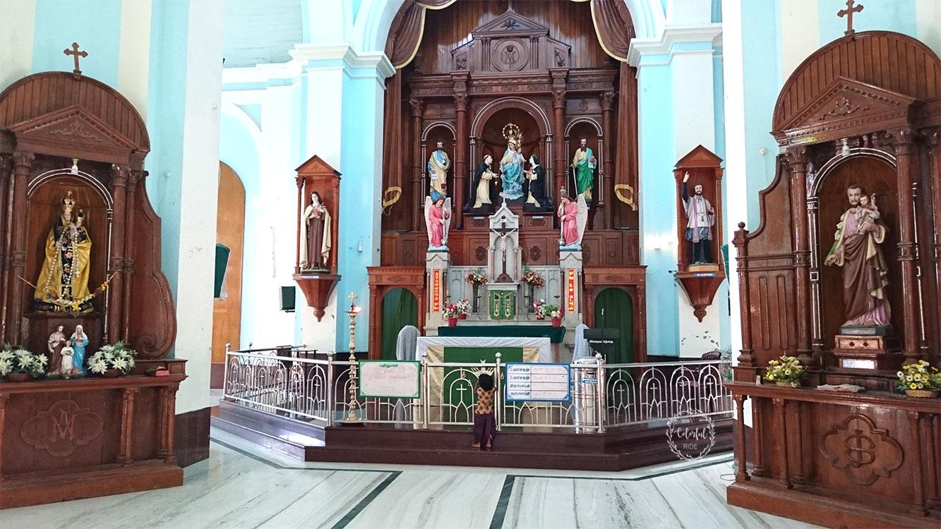 alanthalai church history