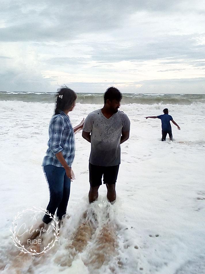 chothavilai beach kanyakumari