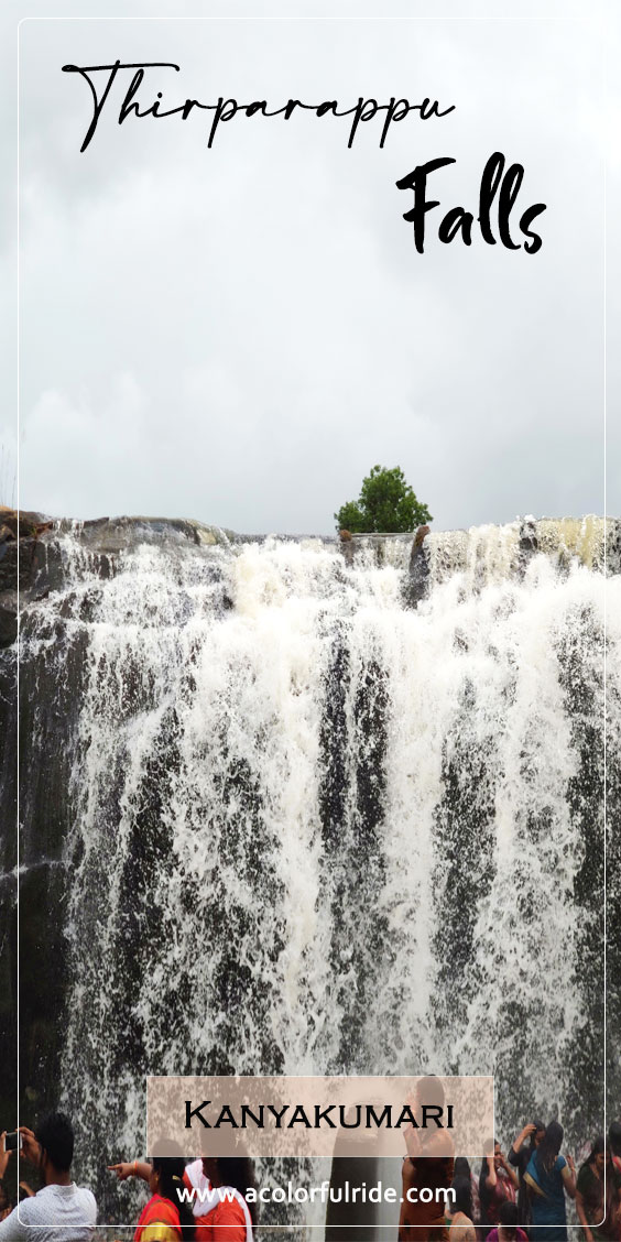 how to reach thirparappu falls from kanyakumari