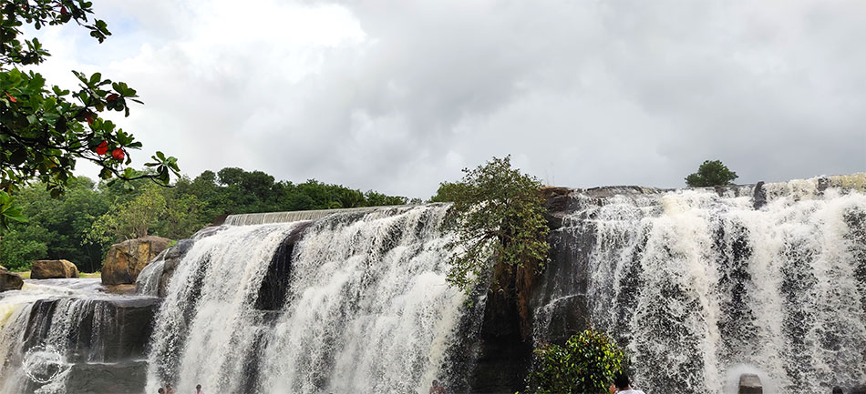 nagercoil to thirparappu falls distance