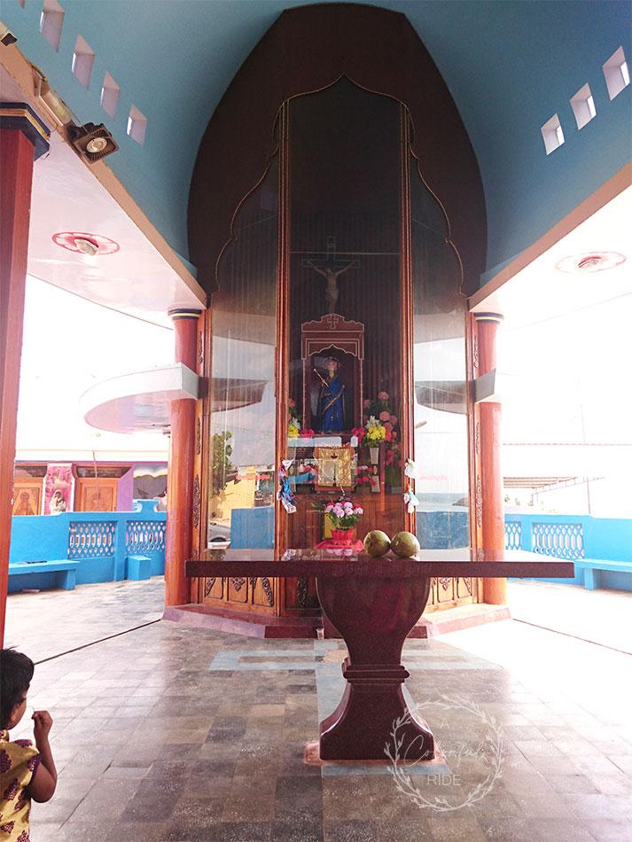 kappal matha church in Uvari