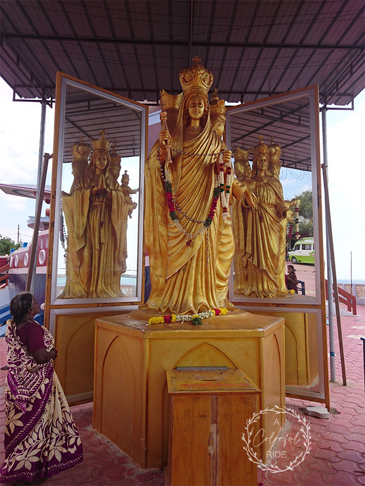 Selva matha church Uvari
