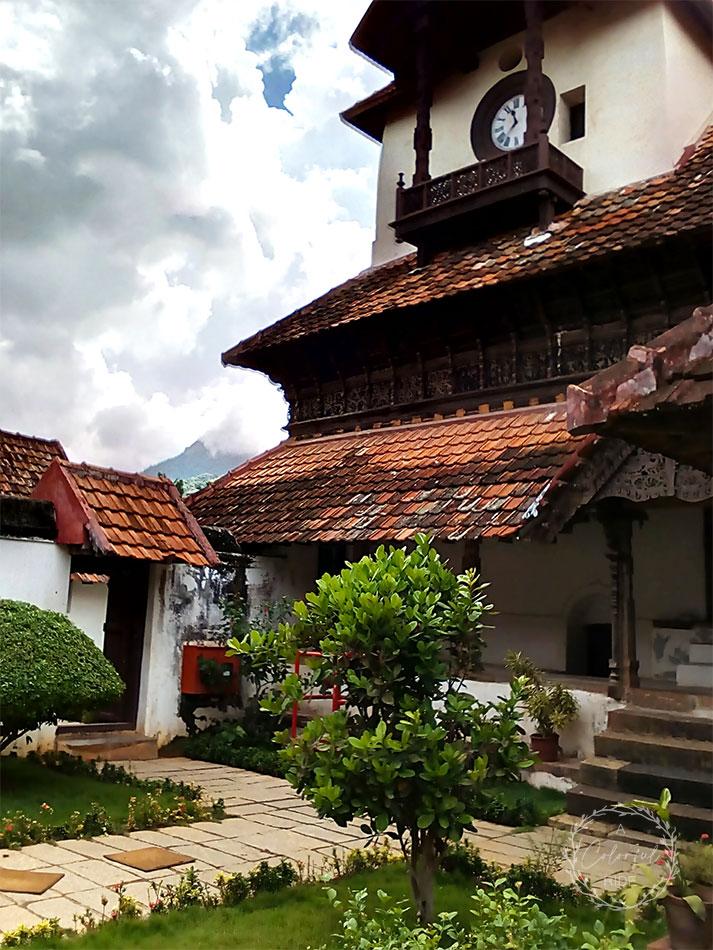 padmanabhapuram palace flooring