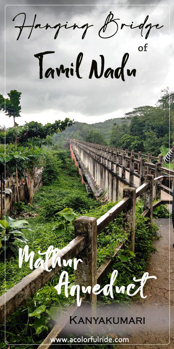 Mathoor Thottipalam or Mathoor aqueduct