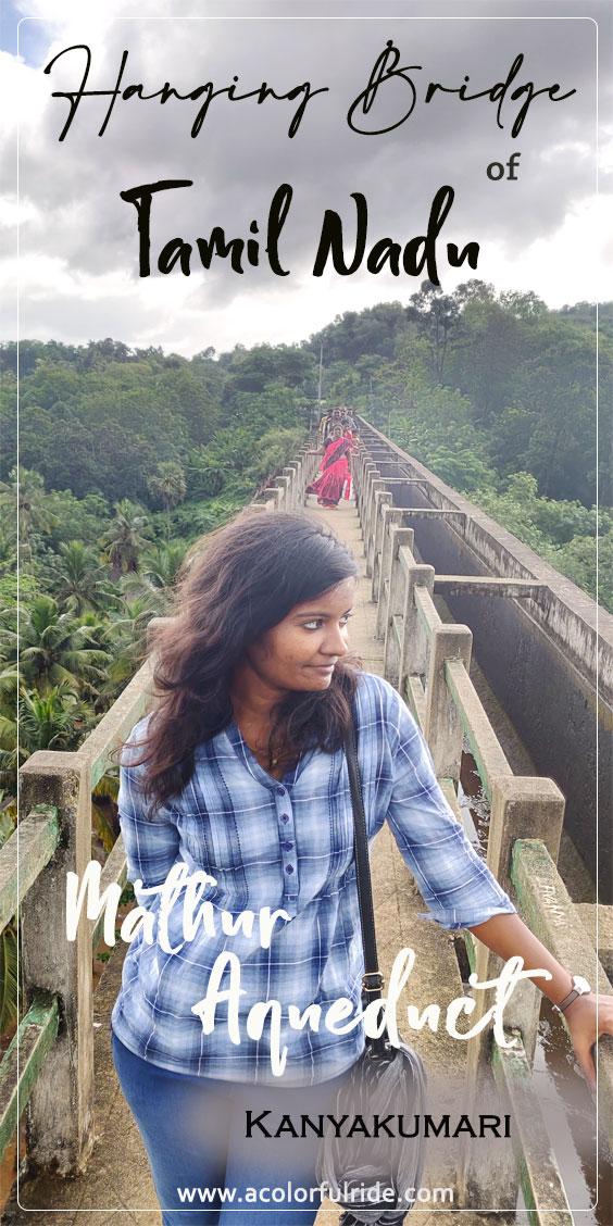 Mathoor Thottipalam or Mathur hanging bridge kanyakumari
