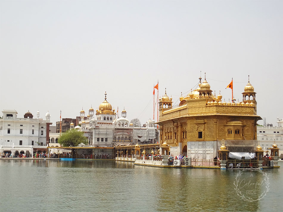 golden temple to wagah border