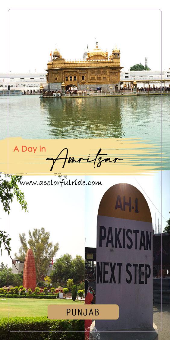 Amritsar 1 day trip