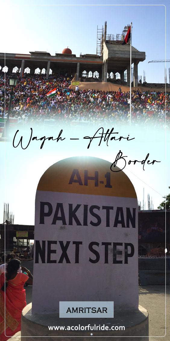 amritsar wagah border distance