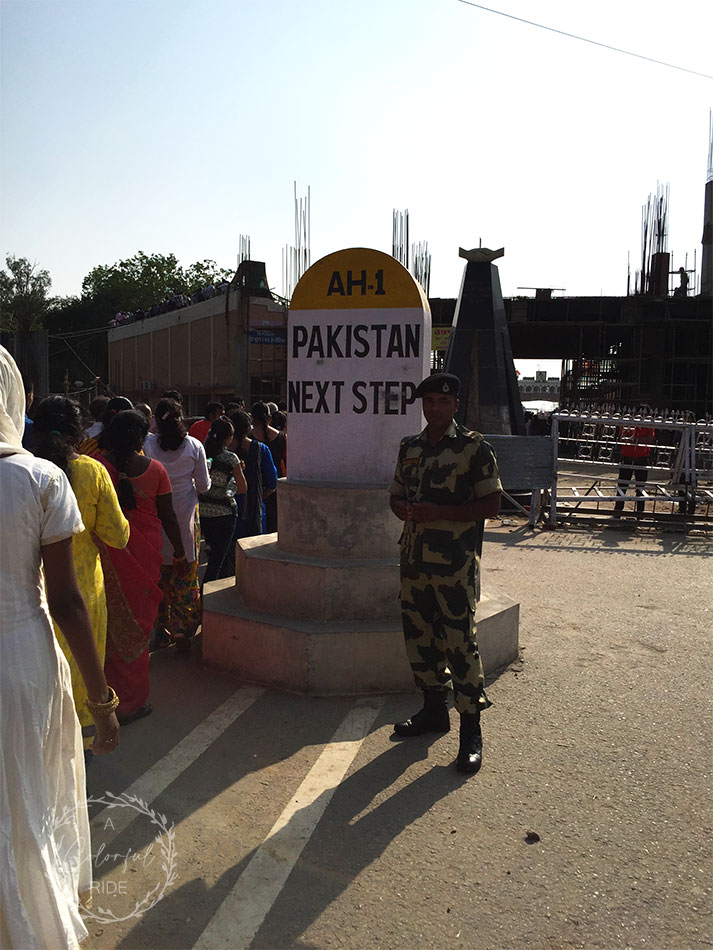 amritsar to wagah border distance by car