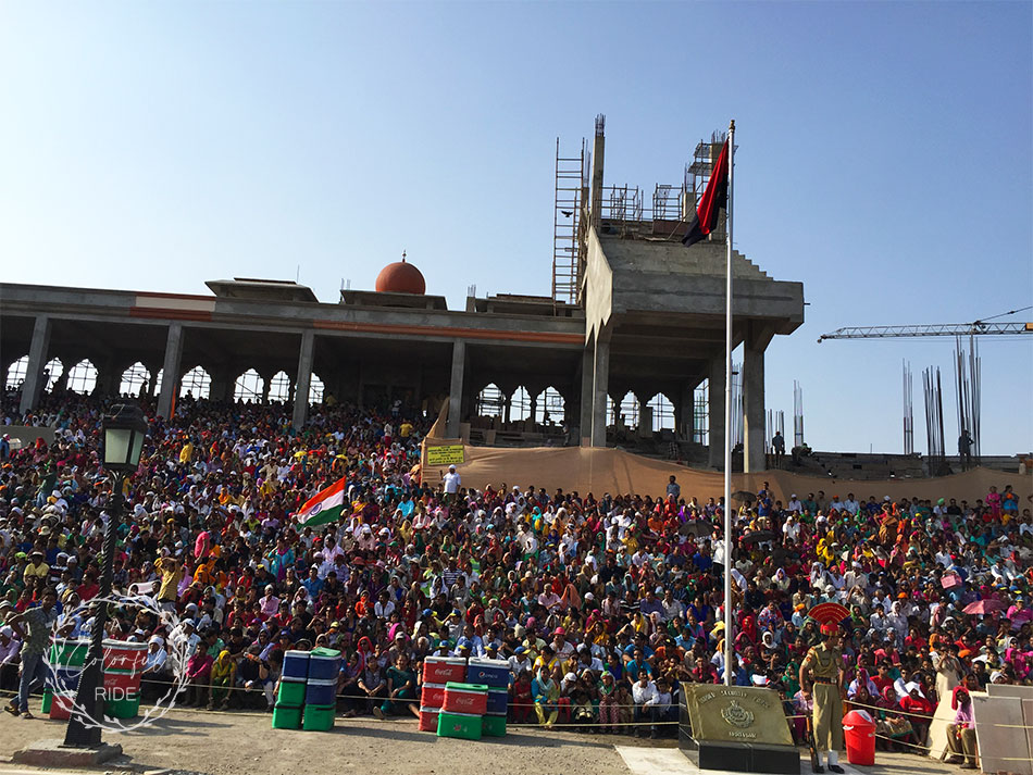 Wagah-Attari border ceremony